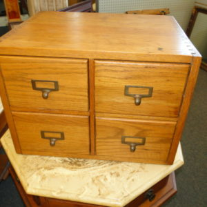 File Card Cabinet